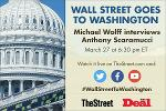 TheStreet Set to Go Live With Anthony Scaramucci, Michael Wolff -Live Stream