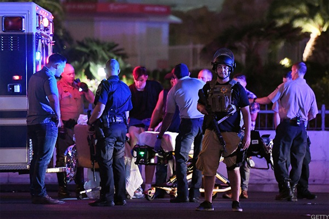 Scenes from the deadly attack in Las Vegas.