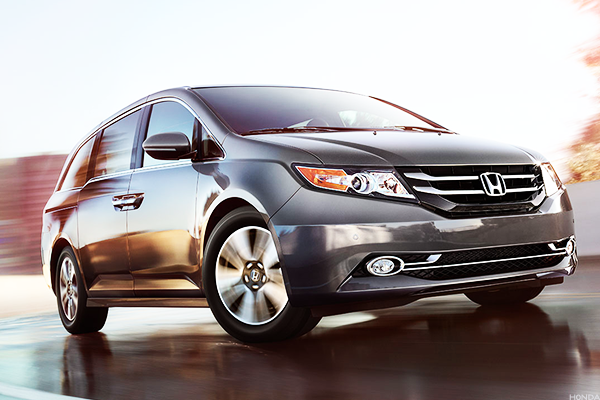 Spend more time with family: Honda Odyssey
