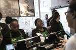 Fear the Starbucks Mosh Pit -- Jim Cramer Weighs in Ahead of Earnings