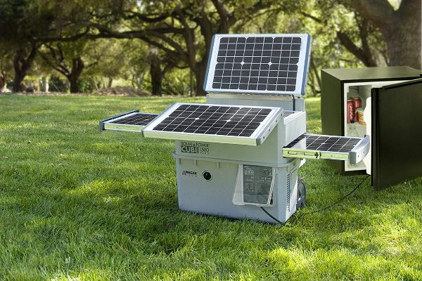 Solar Powered Cube Generator