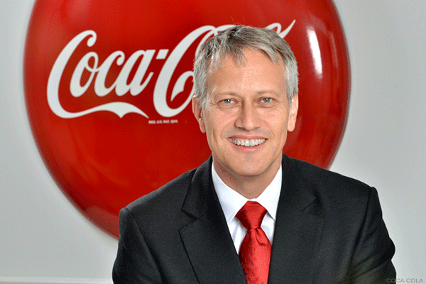 Coke CEO James Quincey.