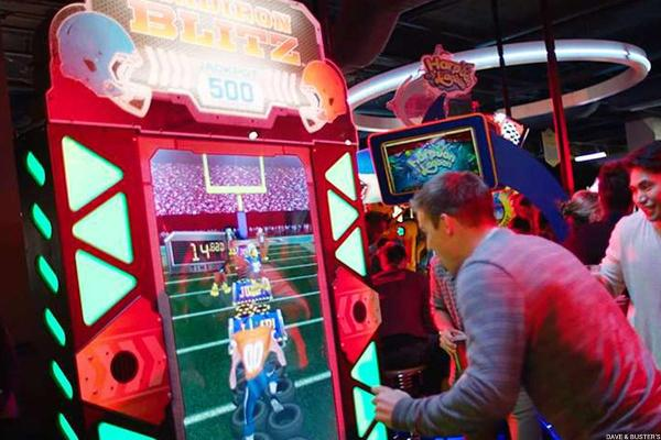 Dave & Buster's Hangover Leaves Room for Play