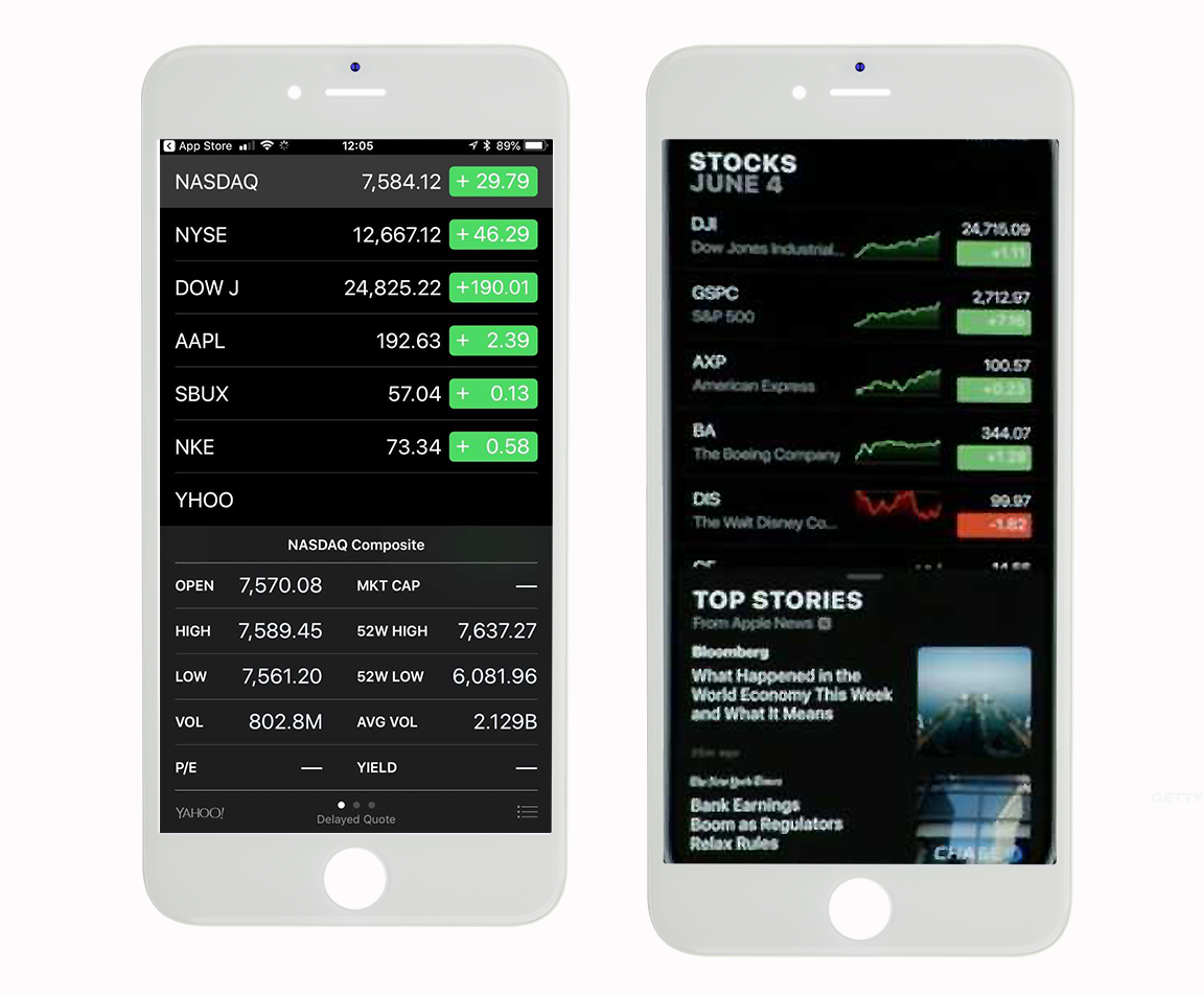 Apples Stocks App Finally Gets An Update Thestreet