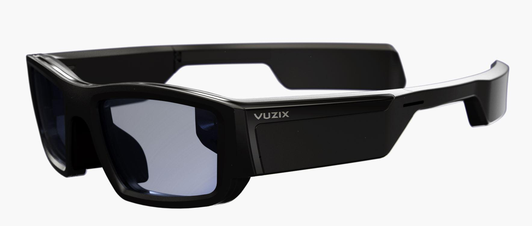 The $1,000 Vuzix Blade is equipped with Amazon's Alexa voice assistant.