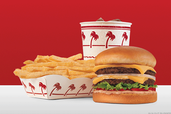 #1. In-N-Out Burger