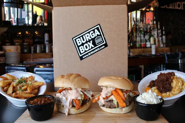 BurgaBox (Founded 2016--American hamburgers)