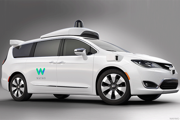 Google's Waymo to Show Off Self-Driving Minivan at Auto Show in Detroit