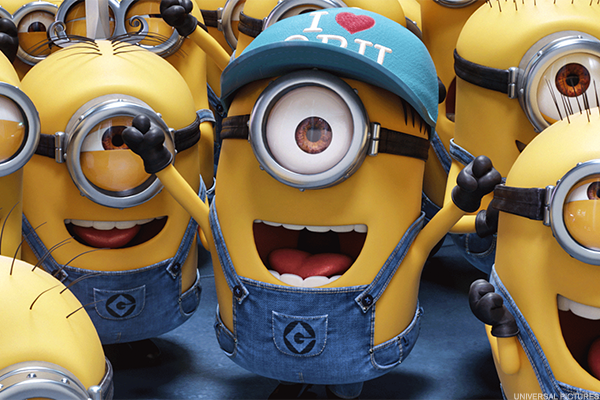 'Despicable Me 3' Tops Weekend Box Office