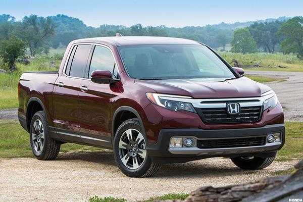 Honda Tries Again at Pickups With New Generation Ridgeline