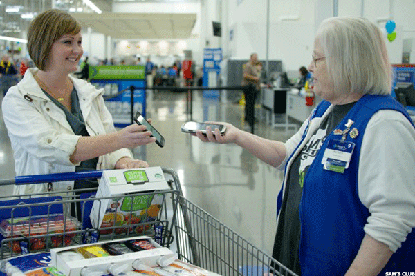 Walmart's Sam's Club Scan-and-Go App May Make Cash Registers Obsolete