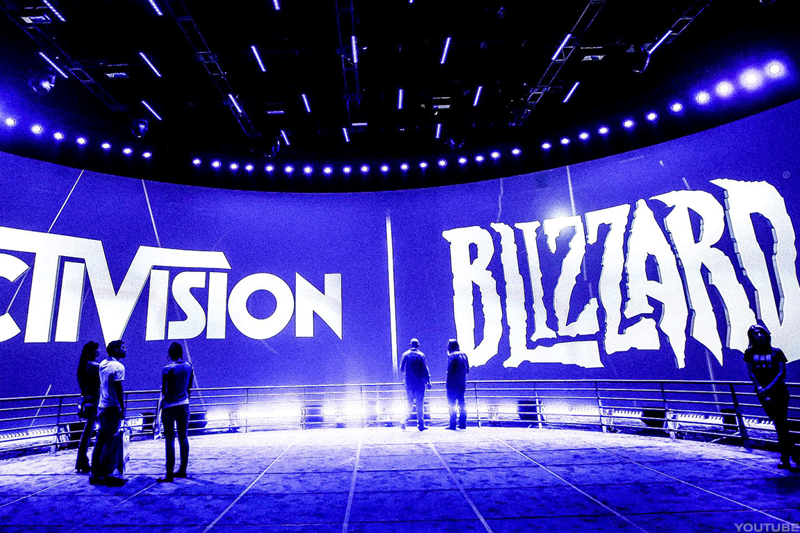 Activision Blizzard is huge in e-sports.