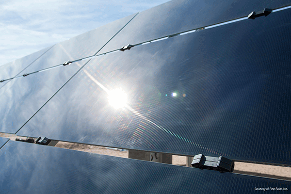 First Solar's Journey Through the Desert Is Just Beginning