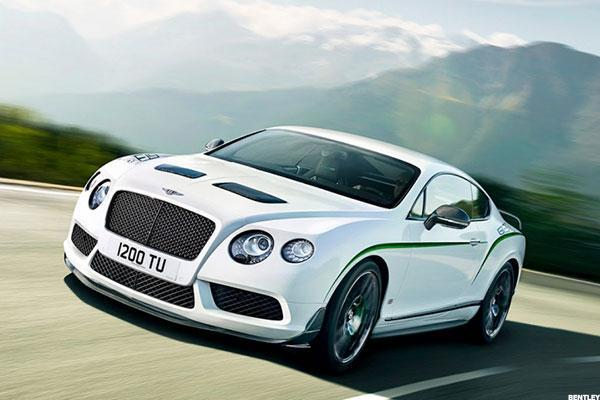 8. Subcompact: 2017 Bentley Continental GT