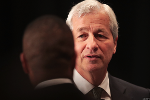 JPMorgan Shares Gain as Rate Hopes Offset Downgrade