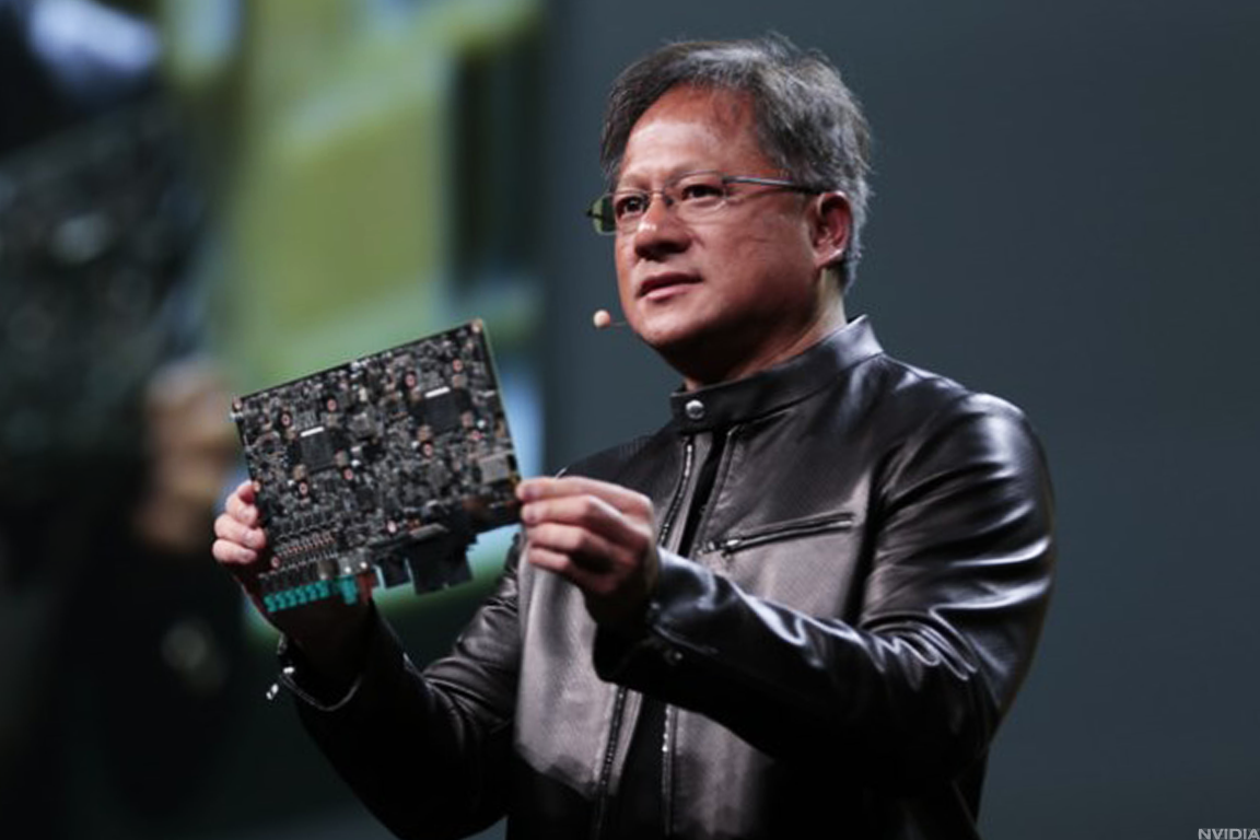 Nvidia founder and CEO Jensen Huang