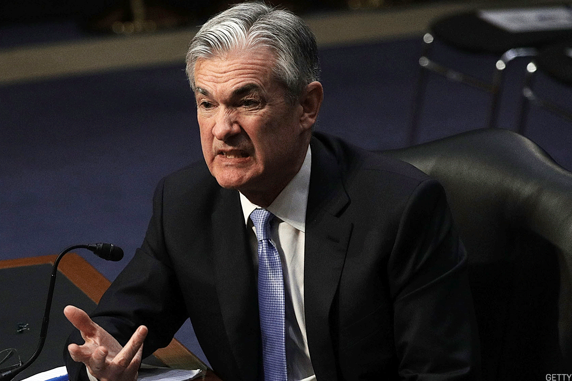 Incoming Fed chair Jerome Powell.