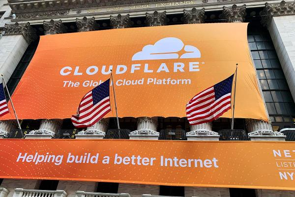 Shares of Cloudflare Could Correct Further to the Downside