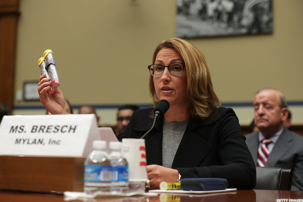 Heather Bresch, Mylan CEO.