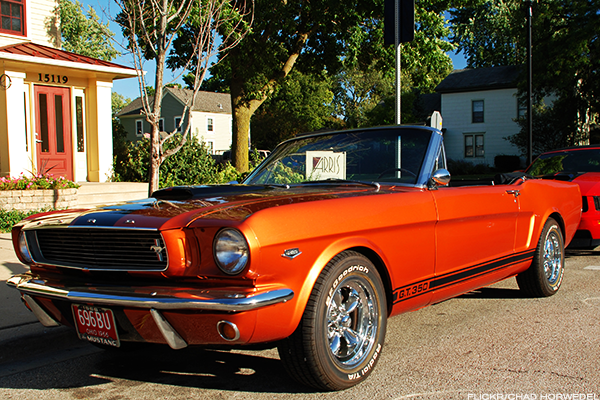 3. 1966 Ford Mustang