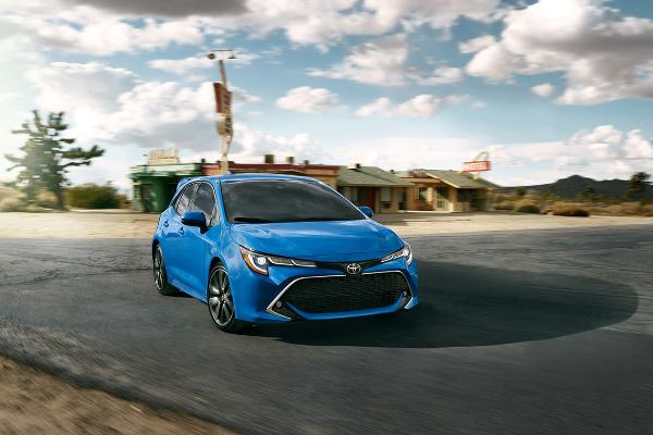 2019 Toyota Corolla Hatchback 2.0 L, 4 cyl, Automatic, Regular Gasoline