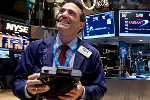 Dow Surges More Than 540 Points on Strong Bank Earnings; Nasdaq Gains 2.9%