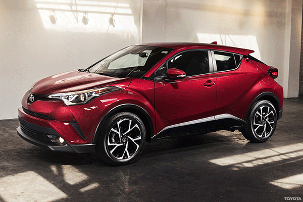 Toyota's C-HR Is a Late, Stylish Addition to Hot Subcompact Crossover Segment