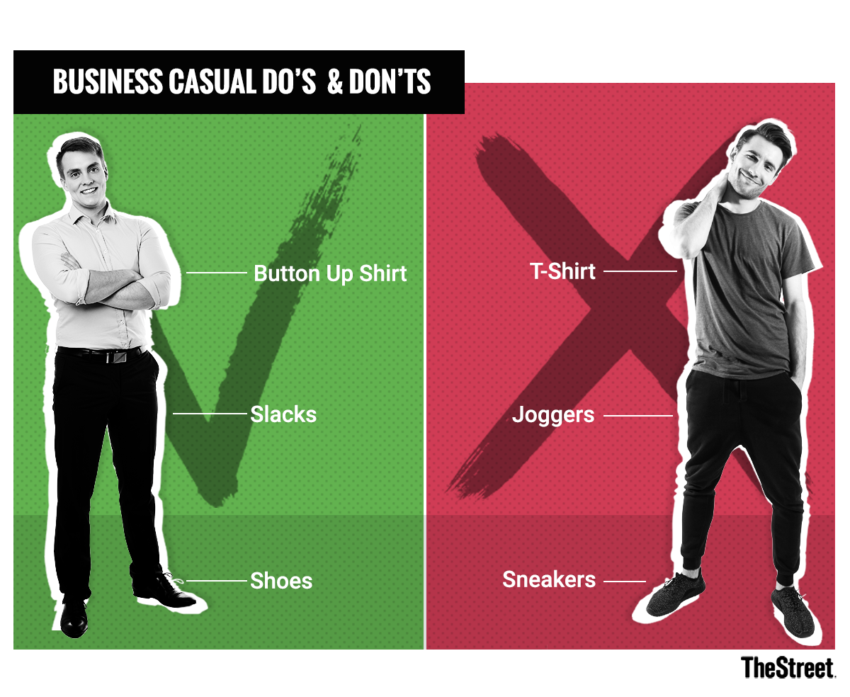 0c42e13eaf What Is Business Casual Attire For Men And Women  - TheStreet