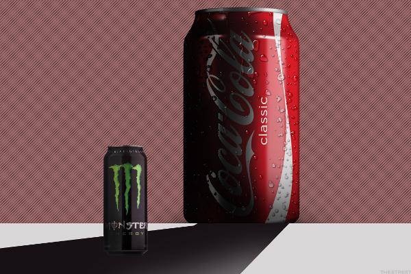 coke s plans to release energy drinks ruffles monster beverage