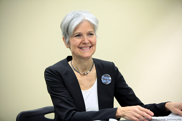 Vincent Harris Quoted on Jill Stein