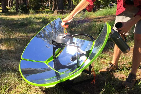 Solar Cooker Camp Stove