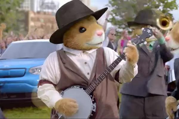 They're Baaack: Kia Sends the Hamsters Back on the Road