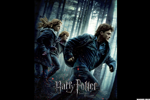 8. Harry Potter and the Deathly Hallows Part 1