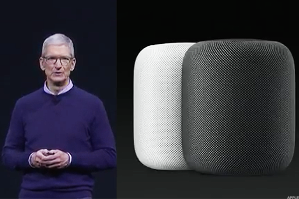 The new Apple Homepod.