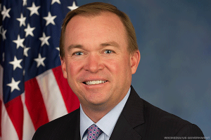 Mulvaney, Trump's Budget Chief Pick, Compares U.S. Debt to Family Finances