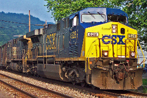 CSX Rises on Earnings, Revenue Beat