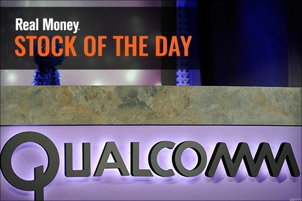 I'd Focus on the Closing Price of Qualcomm and Not the Intraday Action