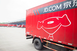 JD.com Is a Top Gainer