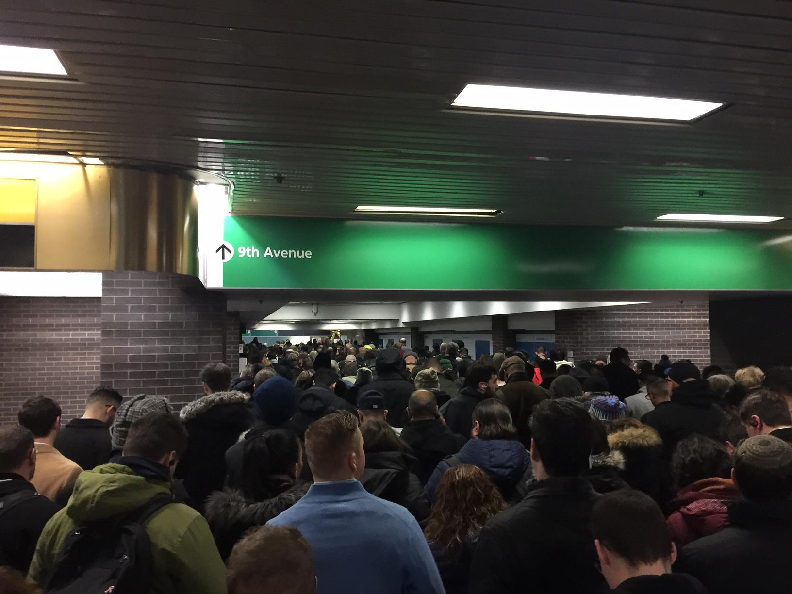 Inside Port Authority. Source: Eric Shakun.