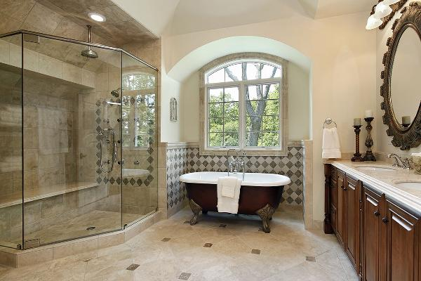 Upscale Bathroom Addition