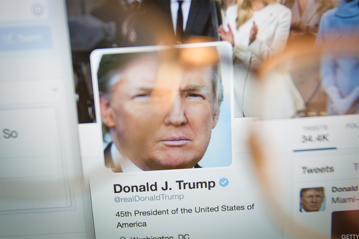 Twitter has enjoyed a healthy 'Trump bump' this year thanks to President Donald Trump's frequent activity on the site.