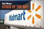 Walmart Edges Higher As Retailer Competes With Amazon Next-Day Option