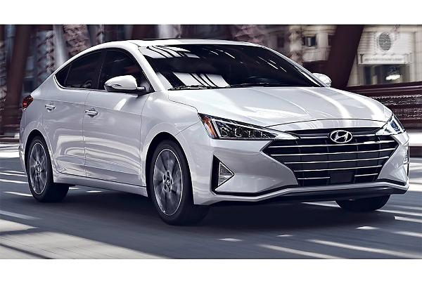 2019 Hyundai Elantra 1.4 L, 4 cyl, Automatic, Turbo, Regular Gasoline