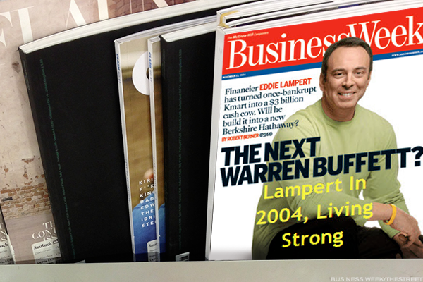 Eddie Lampert, BusinessWeek cover in 2004 (yes, this is real).