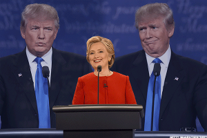 This Was the Most Viral Moment of Last Night's Clinton-Trump Debate