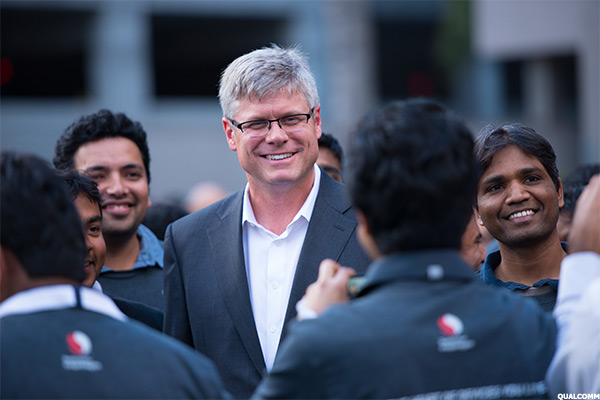 Qualcomm CEO, Steven Mollenkopf.
