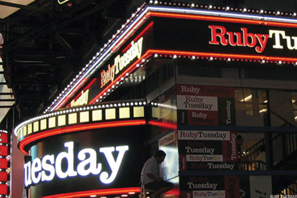 Blue Friday for Ruby Tuesday and 2 Other Value Names