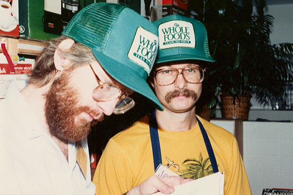 Whole Foods founder John Mackey (left).