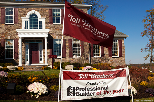 Toll Brothers Continues to Build on Prior Gains