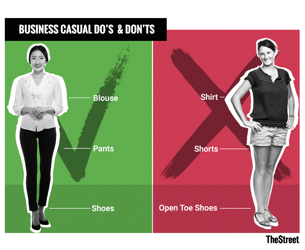 ae822da6c0d What Is Business Casual Attire For Men And Women? - TheStreet